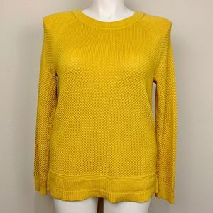 Old Navy Mustard Yellow Pullover Sweater
